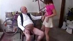 Randy tight flexible 18 yo sweetheart pleases her twat outside
