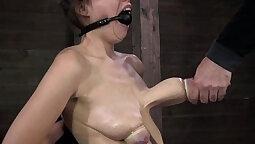 women take man steel pole in bondage fetish