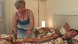 Slutty mom Teddie Taboo gets fucked for breaking clothes