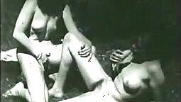 Dahlia Loves Dick on Latex Vintage Lesbian Video