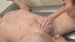 Anal Masturbation Triple Handjob Technique