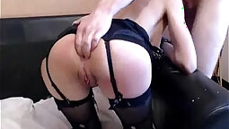 Aggressive Anal BDSM Play On Earth