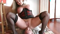 masturbating slave girl fucked in chest by her assistant before watching