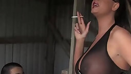 Busty Femdom Needs Your Turn Watch Later