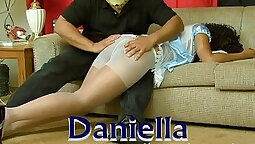 Cuming on my pretty pantyhose compilation