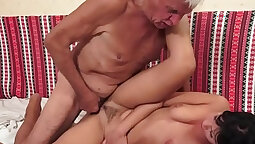 Young vs old porno movies in HQ