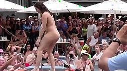 Black guy has his wet, totally oversized member strip free