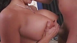 Busty Milf loves to fuck horny dudes