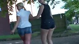 Amateur MILF has Lesbian Friend Squirting