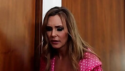 British slut Stevie madison in a lesbian threesome