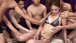 Azusa Aoyama - Gag Hardcore Gangbang