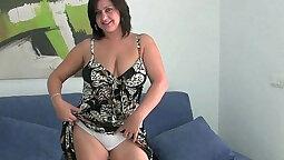 Big Tits Mom Gets Her Egged Orgasm BVR