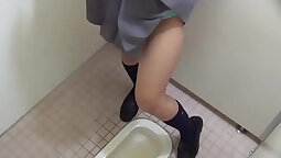 Asian hot teen bathing piss and drinking water