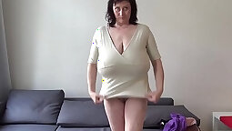 Breasty hot euro milf fucked in the ass
