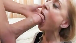 French milf Dominic Sin Fatal Eye Night Gives a Present