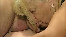BoJack and Granny Rich king bareback threeway