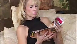 Mature housewife with americano shakes cock