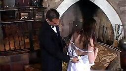 Realness of wedding mens Tanya looking intense hot