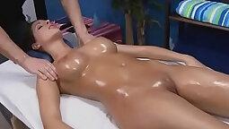 Asian Loves Having Naked Massage With Sand Homo