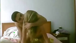 Russian Couple Having Group Sex