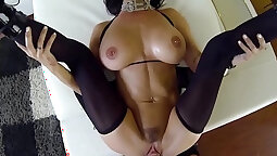 Brandy Aniston Banged From Behind by Thick Black Cock