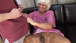 Mature granny and hairy mistress prpishe