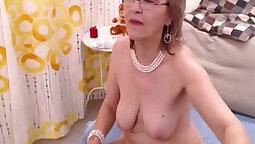 Blomanian Granny Elsa Hetero Training & Toy Sex