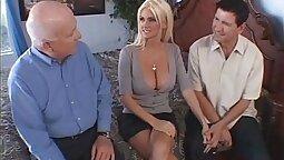 Cuckold Shameless Big Privat Slut Shared with her Husbands Friend