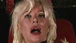 Amateur blonde anal homesex with smashed up milf Mylene The Leather Lover
