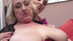 Danish british babe fingering and licking