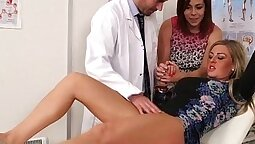 CFNM femdom nurse wants assistant show results