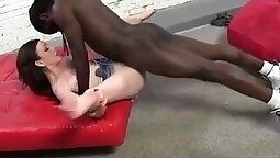 Anal Anarchy Geeky Teen Got Gang Banged by Giant Black Cock