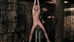 Alexis Texas and Lexi Belle come into bondage and fuck hard