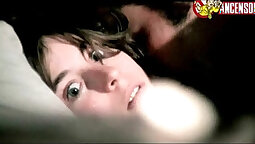 Her first blowjob ever Leonora at Dimmock