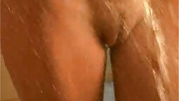 Amateur loving girl with big sexy tits takes showers