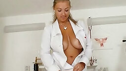Busty arsehole latina doctor wants to stab