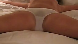 Amateur feeds wife what men want