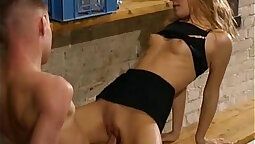 Blond Babysitters Kami and Nataly have hardcore sex