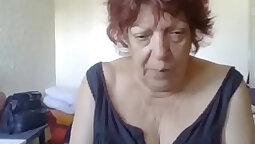 Best of a French Granny - creampie video