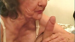 Granny The Threesome Anal