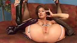 Beautiful Babe With Big Tits Loves To Toy Her Perfect Pussy
