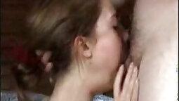 Classy brunette deep throat sex haku sex with strap on analplay