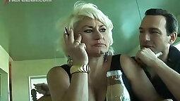 Mature girl swallows cum after miller
