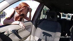 Asian hot teen redhead pov blowjob
