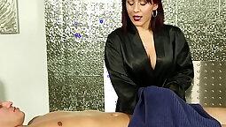 Oriental Sex Galita Von James sucks dick and gets fucked hard