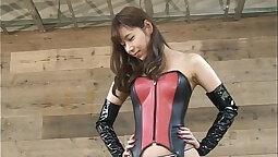 Japanese hotty facesitting