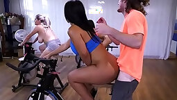 Busty Latina MILF With Big Ass Fucked and Creampied
