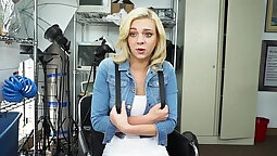 latina babe fucked by bbc at casting