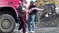 Amateur threesome orgy hispanic homemade reality teen public