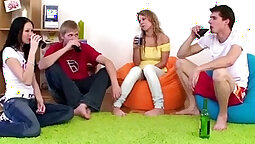 Oversixty Teen Receives a Porn Drink